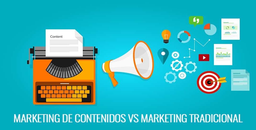 Marketing de contenidos vs Marketing tradicional