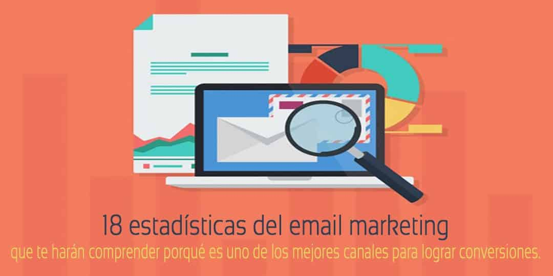 Estadísticas del email marketing para conseguir más conversiones