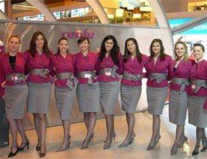 Es increíble la diversidad de talentos y conocimientos que posee las azafatas en España