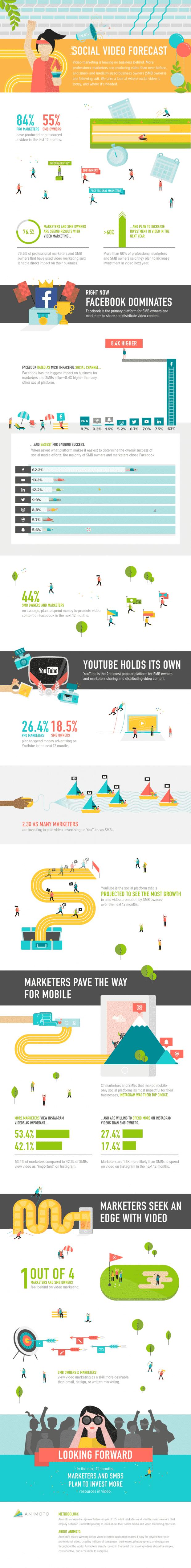 Vídeo Marketing - Infografía resumen.