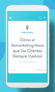 Aprende en cortas lecciones con esta app de marketing digital