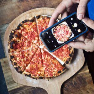 Las fotos de pizza son las más compartidas en instagram en el tema de la gastronomía.