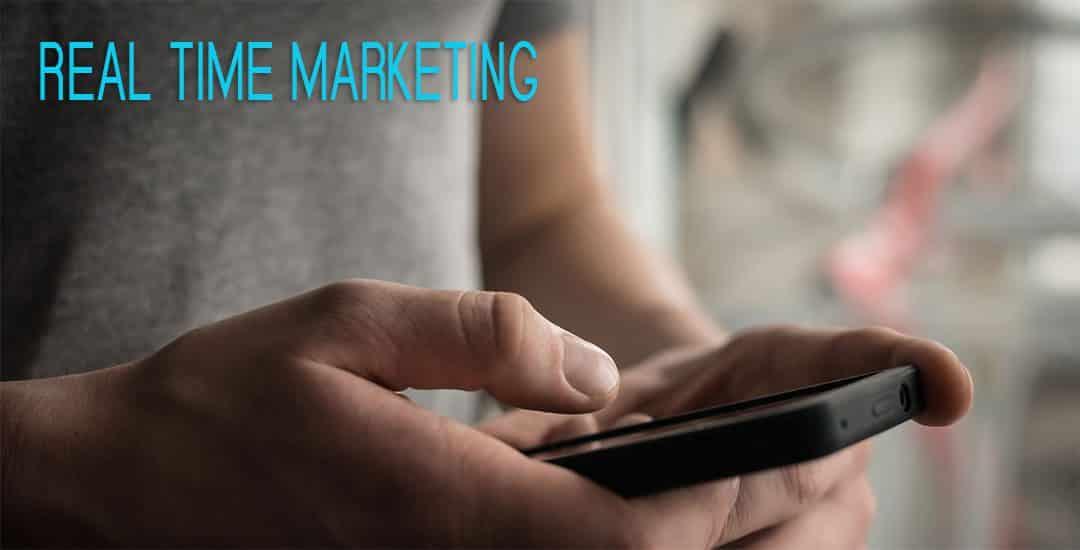 Real time marketing brinda oportunidad en tiempo real