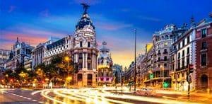 El buzoneo en Madrid...